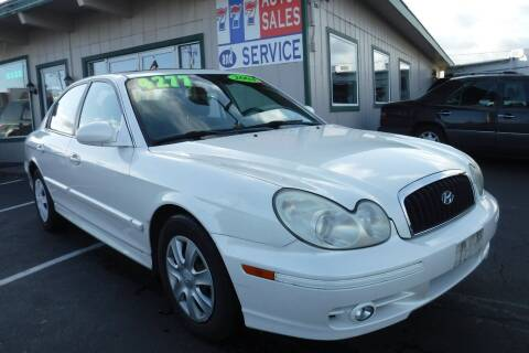 2004 Hyundai Sonata for sale at 777 Auto Sales and Service in Tacoma WA