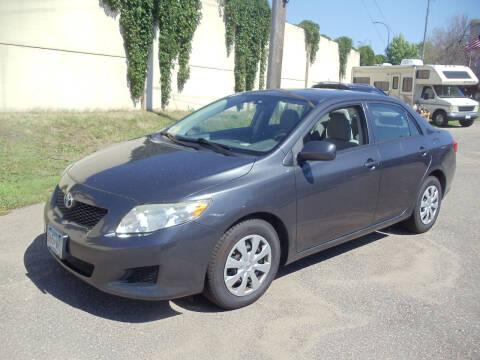 2010 Toyota Corolla for sale at Metro Motor Sales in Minneapolis MN