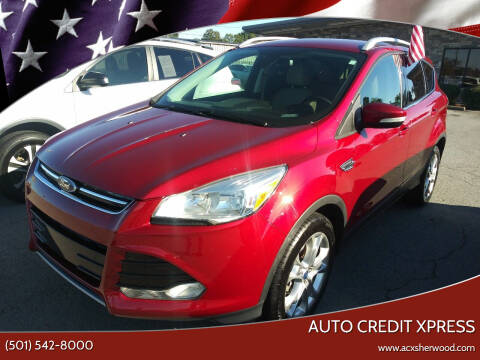 2014 Ford Escape for sale at Auto Credit Xpress in North Little Rock AR