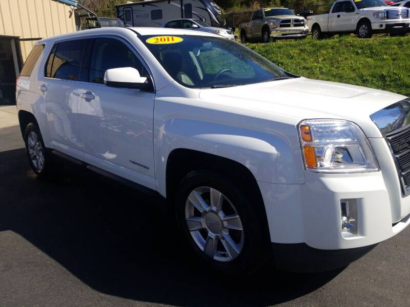 2011 GMC Terrain for sale at W V Auto & Powersports Sales in Cross Lanes WV