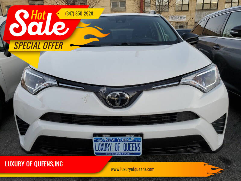 2018 Toyota RAV4 for sale at LUXURY OF QUEENS,INC in Long Island City NY
