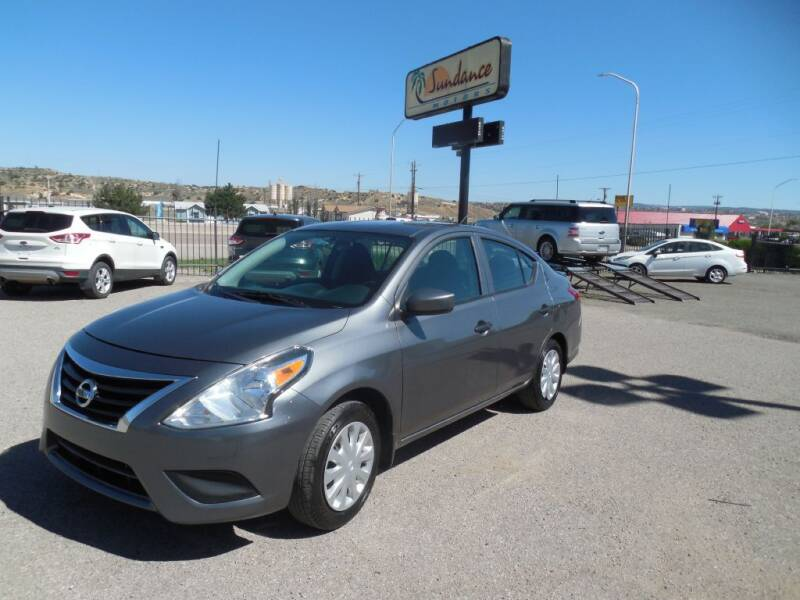 2016 Nissan Versa for sale at Sundance Motors in Gallup NM
