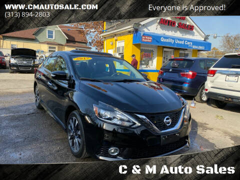 2017 Nissan Sentra for sale at C & M Auto Sales in Detroit MI