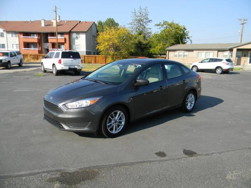 2018 Ford Focus for sale at INVICTUS MOTOR COMPANY in West Valley City UT