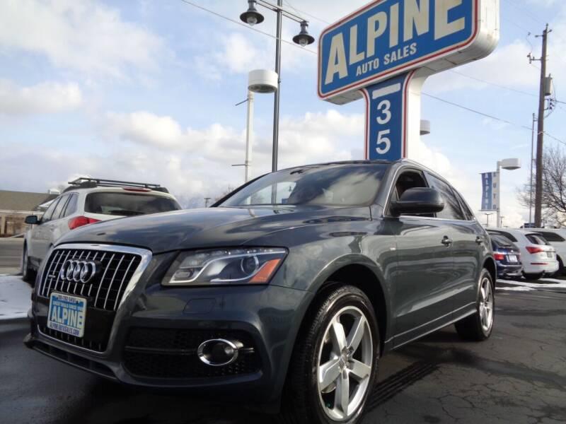 2011 Audi Q5 for sale at Alpine Auto Sales in Salt Lake City UT