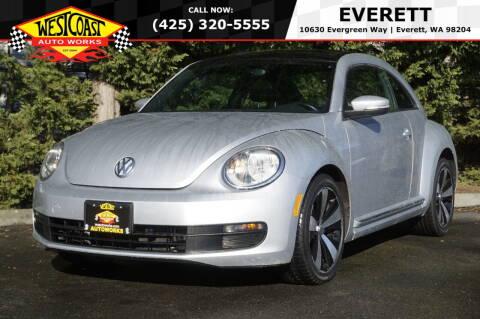 2013 Volkswagen Beetle for sale at West Coast Auto Works in Edmonds WA