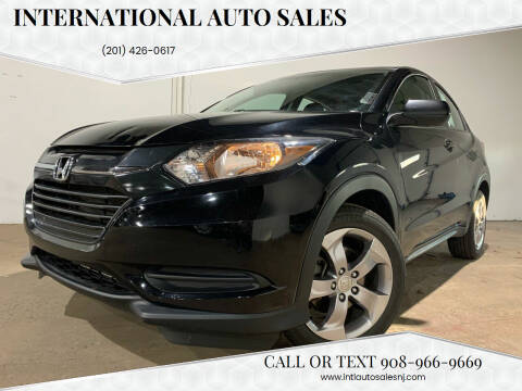2018 Honda HR-V for sale at International Auto Sales in Hasbrouck Heights NJ