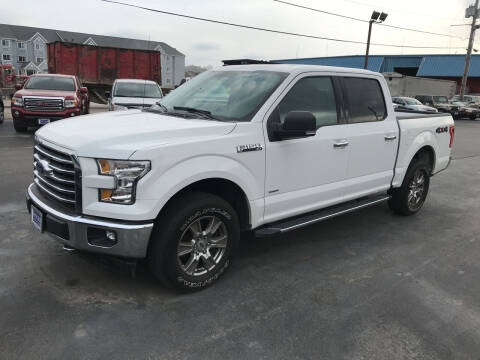 2017 Ford F-150 for sale at Singer Auto Sales in Caldwell OH