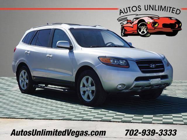 2007 Hyundai Santa Fe for sale at Autos Unlimited in Las Vegas NV