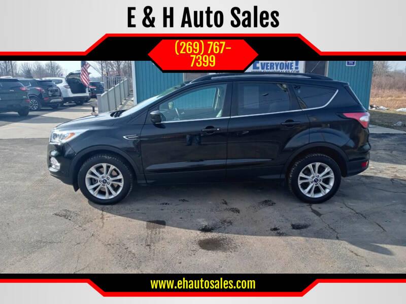 2018 Ford Escape for sale at E & H Auto Sales in South Haven MI