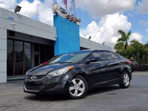 2013 Hyundai Elantra for sale at Tech Auto Sales in Hialeah FL