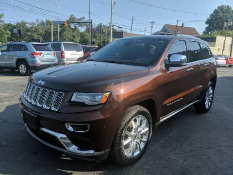 2014 Jeep Grand Cherokee for sale at Richland Motors in Cleveland OH