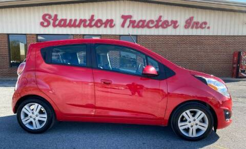 2014 Chevrolet Spark for sale at STAUNTON TRACTOR INC in Staunton VA
