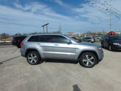 2015 Jeep Grand Cherokee for sale at BLACKWELL MOTORS INC in Farmington MO