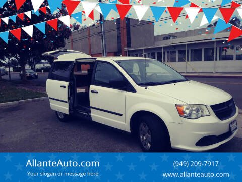 2012 RAM C/V for sale at AllanteAuto.com in Santa Ana CA