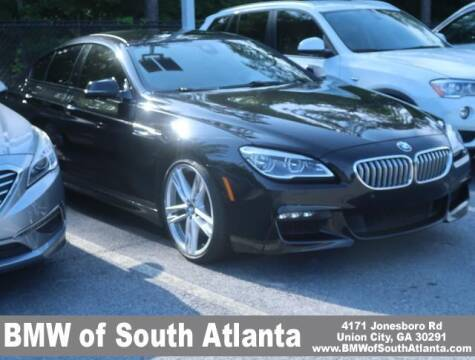 2017 BMW 6 Series for sale at Carol Benner @ BMW of South Atlanta in Union City GA