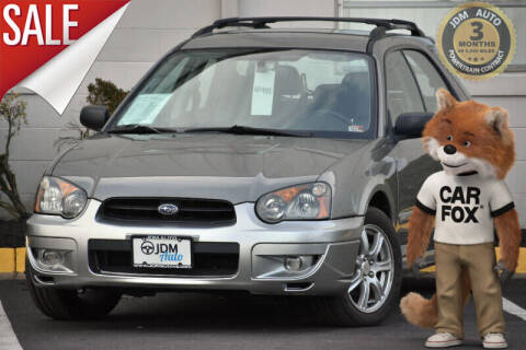 2005 Subaru Impreza for sale at JDM Auto in Fredericksburg VA