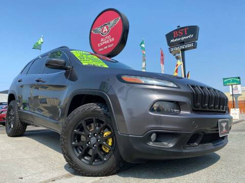 2015 Jeep Cherokee for sale at Auto Express in Chula Vista CA
