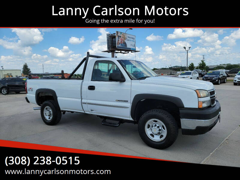 2006 Chevrolet Silverado 2500HD for sale at Lanny Carlson Motors in Kearney NE