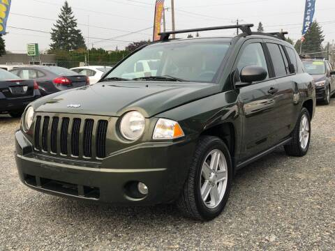 2007 Jeep Compass for sale at A & V AUTO SALES LLC in Marysville WA