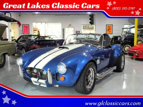1967 Shelby Cobra for sale at Great Lakes Classic Cars & Detail Shop in Hilton NY