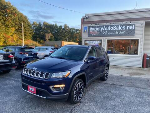 2018 Jeep Compass for sale at Variety Auto Sales in Worcester MA
