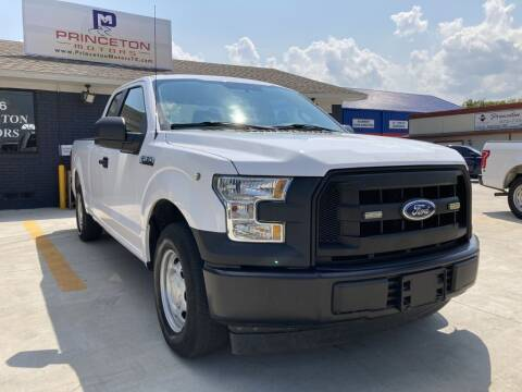 2017 Ford F-150 for sale at Princeton Motors in Princeton TX