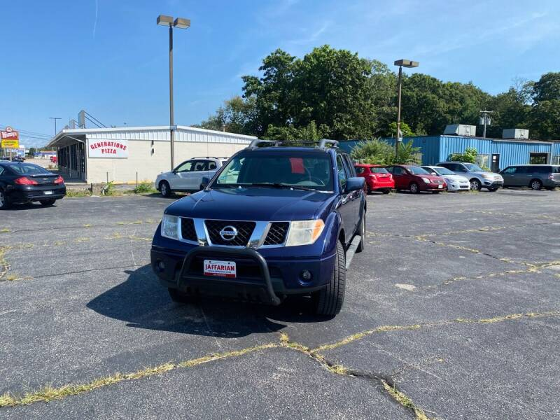 2006 Nissan Frontier for sale at M & J Auto Sales in Attleboro MA