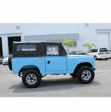 1966 Land Rover Series IIA for sale at Classic Car Deals in Cadillac MI