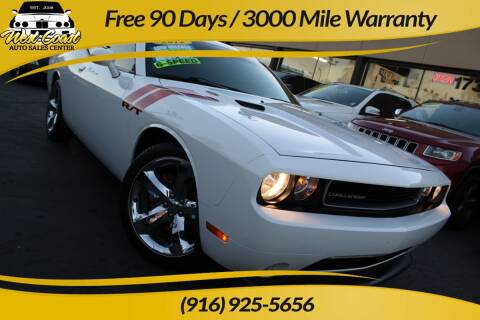2012 Dodge Challenger for sale at West Coast Auto Sales Center in Sacramento CA