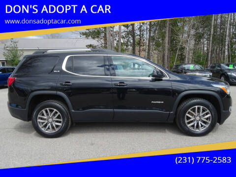 2019 GMC Acadia for sale at DON'S ADOPT A CAR in Cadillac MI