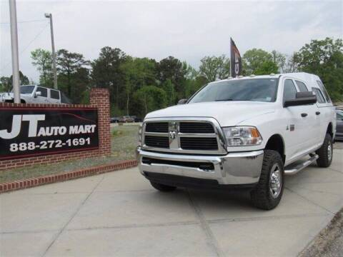 2012 RAM Ram Pickup 2500 for sale at J T Auto Group in Sanford NC