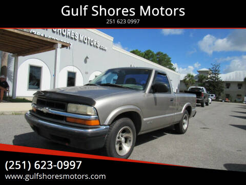1998 Chevrolet S-10 for sale at Gulf Shores Motors in Gulf Shores AL