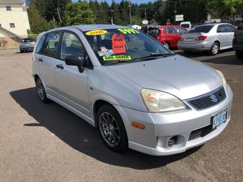 2006 Suzuki Aerio for sale at Freeborn Motors in Lafayette, OR