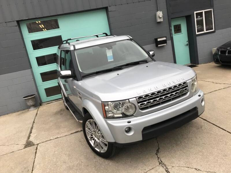 2011 Land Rover LR4 for sale at Enthusiast Autohaus in Sheridan IN