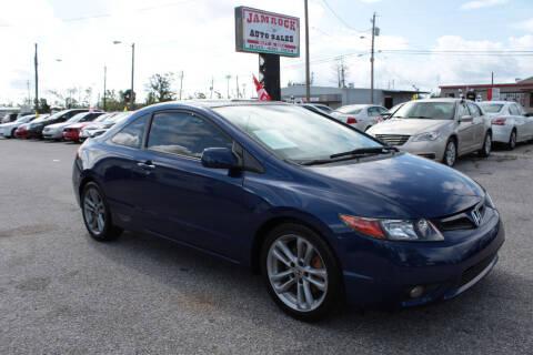 2008 Honda Civic for sale at Jamrock Auto Sales of Panama City in Panama City FL