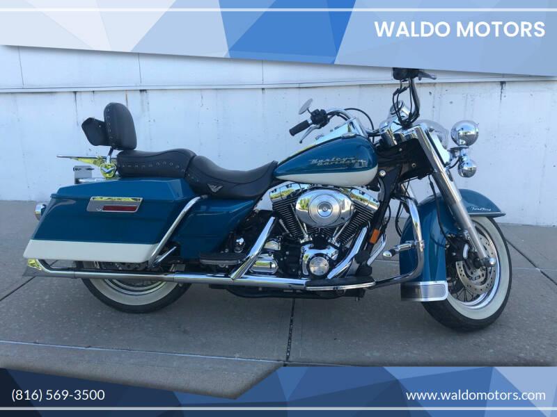 2001 Harley-Davidson Road King for sale at WALDO MOTORS in Kansas City MO