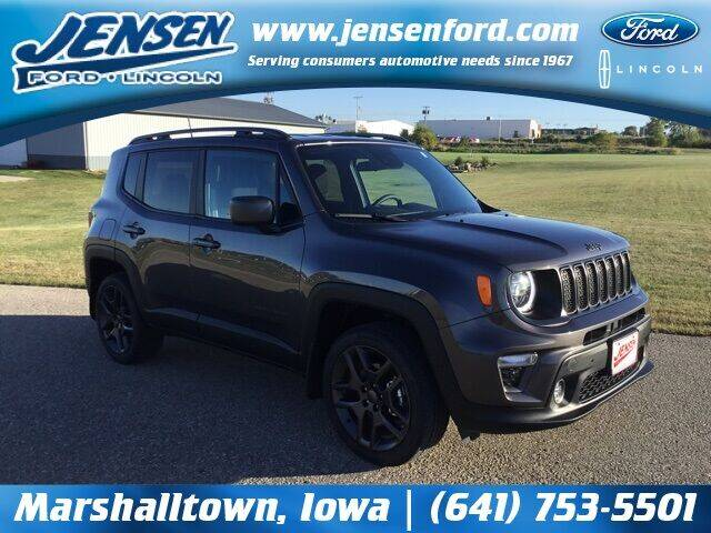 2021 Jeep Renegade for sale at JENSEN FORD LINCOLN MERCURY in Marshalltown IA