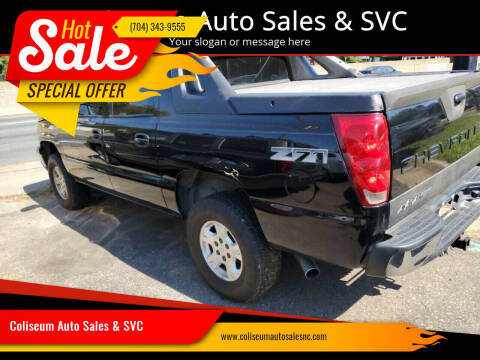 2004 Chevrolet Avalanche for sale at Coliseum Auto Sales & SVC in Charlotte NC