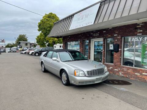 2005 Cadillac DeVille for sale at M&M Auto Sales in Portland OR