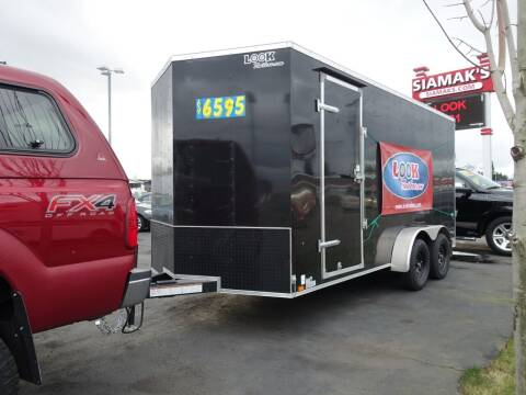 2021 Look Cargo Trailers LSCAA7.0X16TE2FC for sale at Siamak's Car Company llc in Salem OR
