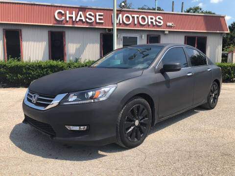 2015 Honda Accord for sale at Chase Motors Inc in Stafford TX