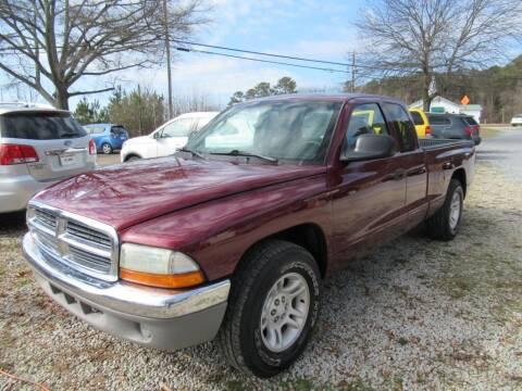 2001 Dodge Dakota for sale at Dallas Auto Mart in Dallas GA