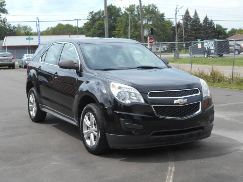 2012 Chevrolet Equinox for sale at MT MORRIS AUTO SALES INC in Mount Morris MI