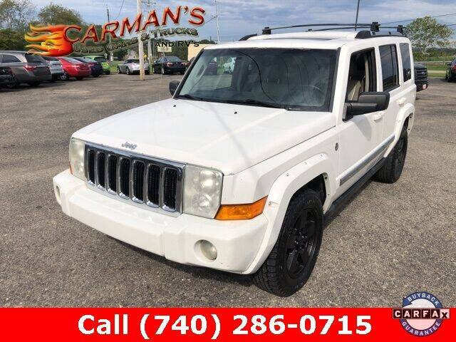 2006 Jeep Commander for sale at Carmans Used Cars & Trucks in Jackson OH