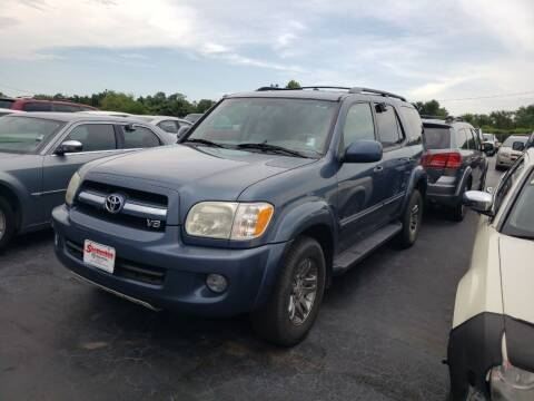 2006 Toyota Sequoia for sale at American Motors Inc. - Cahokia in Cahokia IL