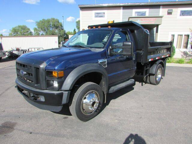 2010 Ford F-550 Super Duty for sale at NorthStar Truck Sales in Saint Cloud MN