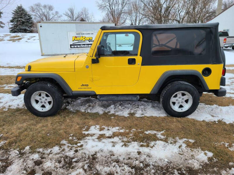 2004 Jeep Wrangler for sale at ROB'S AUTO SALES in Ridgeway IA