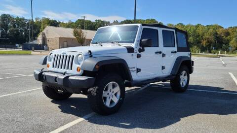 2012 Jeep Wrangler Unlimited for sale at Total Package Auto in Alexandria VA