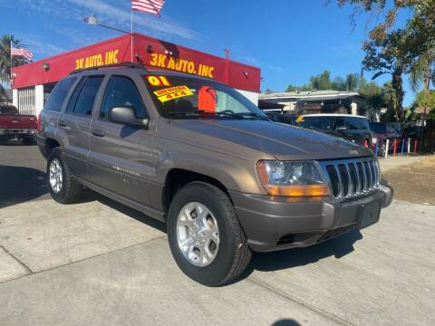 2001 Jeep Grand Cherokee for sale at 3K Auto in Escondido CA